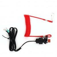 Emergency Cut-Off Switch for Yamaha 6E9-82575-02-00/18-65450/6E9-82575-09 - 6E9-82575-02 - JSP