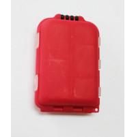 Rectangular Fishing Polypropylene Tackle Box, 10 compartments - 8380-350X - AZZI Tackle
