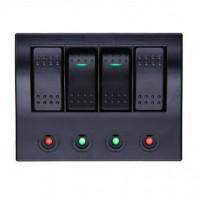 Rocker Switch with 4 Panels - AF4S - ASM