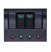 Rocker Switch with 4 Panels - AF4S/P - ASM
