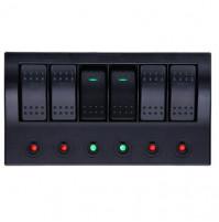 Rocker Switch with 6 Panels - AF6S - ASM
