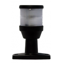 2 NM All Round / Anchor Navigation Lamp - Fixed Base - 12V - 10W - Stick Length from 6 to 8 inch - 2LT995002001X - Hella Marine