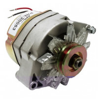 Inboard Alternator Delco 3-Wire 12V 78-Amp 10SI used in Many Applications including Mercruiser, Volvo, Internally Regul - 20053 - API Marine