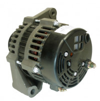 "Inboard Alternator Crusader 12V 105-Amp, 2"" Mounting Foot 6-Groove Serpentine Pulley - 20112-100A - API Marine"