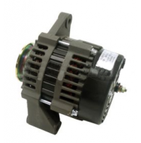 "Inboard Alternator PCM, Crusader, Indmar, Westerbeke & Others, 12V 105-Amp 2"" Mounting Foot V-Groove Pulley - 20113-100A - API Marine"