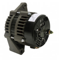 "Inboard Alternator Pleasure craft 12V 100-AMP 2"" Mounting Foot 6-Groove 50mm Sepentine Pulley, Replace PCM # RA097007A - 20123-100A - API Marine"