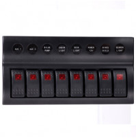 Rocker Switch with 8 Panels - AP8 - ASM