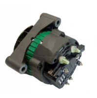 "Inboard Alternators Volvo Penta 8.1L Engines, 12V 65-Amp Dual 2"" Mounting Feet, Rplc Volvo #3860082, Mando Style Alterna - 20105 - API Marine"