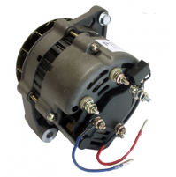 "Inboard Alternators, Mando 12V, 55-AMP used on Mercruiser, OMC, Volvo & Others, 3-Wire Hook-up 2"" Mounting Foot - 20054 - API Marine"