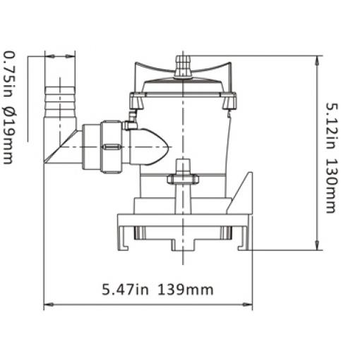bilge pump 12v 800 gph - bp1-g800-03
