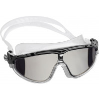 SKYLIGHT - CLEAR SILICONE WITH BLACK MIRRORED LENSES - GG-CDE2033750 - Cressi