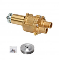 Bronze Flexible Cooling Pump with Pulley for MerCruiser Model. 46-72774 A32 - DJ-09201-P - DJ PUMP