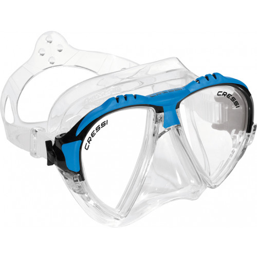 Matrix Mask - Clear Silicone - Assorted Color - MK-CDS301099 - Cressi
