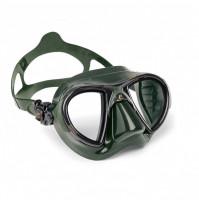Nano Mask - Green Silicone - MK-CDS369850 - Cressi