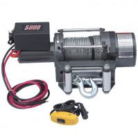 Electric Winch - 5000 lb(2268 kg) Capacity - 12/24 V DC - BA-DW5000-12/24VX - ASM