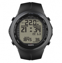 DX BLACK ELASTOMER - CO-STSS019016000 - Suunto