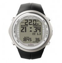 DX SILVER ELASTOMER - CO-STSS021116000 - Suunto