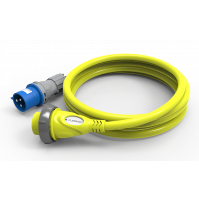 Marine Cordset - 25 m - Yellow Color - 16 A - 230 V - F1625IEC-SY-AM - FURRION