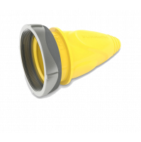 Female Cover Connector with Ring - Yellow - 30 A - F30CVL-SY - FURRION