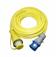 Marine Cordset - 15 m - Yellow Color - 32 A - 230 V - F3215IEC-SY-AM - FURRION