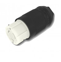 Female Black Connector - 32 A - 250 V - F32FMP-SS - FURRION