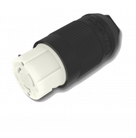 Female Black Connector - 50 A - 125 V - F50FMP-SS - FURRION