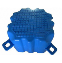 Floating Dock HDPE pontoon cube - Blue - FD505040-BL - ASM