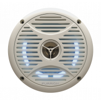 """5"""" 2-WAY OUTDOOR MARINE SPEAKER WITH LED - by one piece - FMS5L2A-BLX - FURRION"""