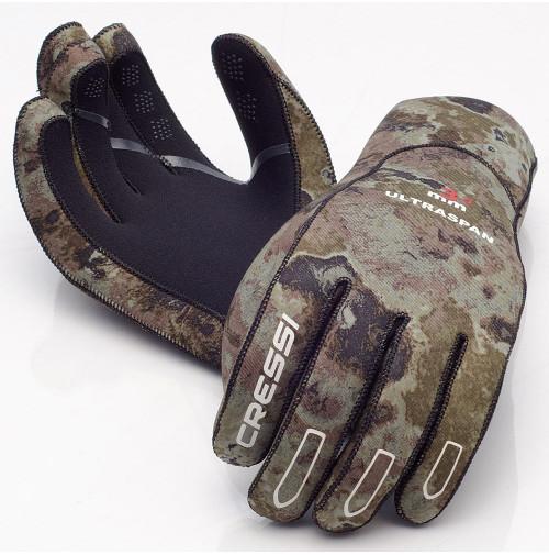 Ultraspan Gloves Camo - GV-CLX477001X - Cressi