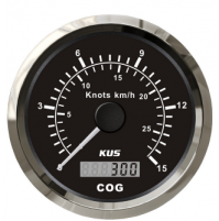 GPS Speedometer Gauge - Model - CMSB - 0~30Knots - SS 316 - KY08009 - Kusauto