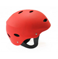 Watersports Helmet CE Approved - Red color - HLMT100-RD - AZZI Tackle