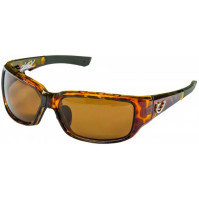 HP POLARIZED SUNGLASSES, TORTOISE VENTED FRAME, AMBER LENS - HP102A-3 - Mustad