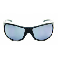 PRO SUNGLASSES GLOSS BLACK FRAME / SMOKE LENS - HP103A-2 - Mustad