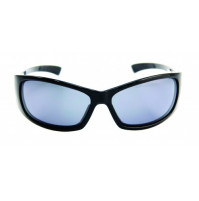 PRO SUNGLASSES GLOSS BLACK FRAME / SMOKE LENS - HP104A-2 - Mustad