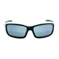 PRO SUNGLASSES GLOSS BLACK FRAME / SMOKE LENS - HP107A-2 - Mustad