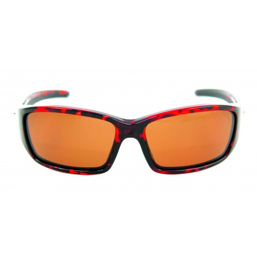 PRO SUNGLASSES TORTOISE FRAME / AMBER GREEN - HP107A-3 - Mustad