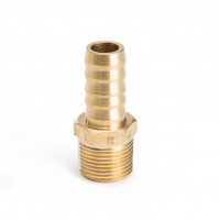 Hose Barb Fitting with Brass 1/2 inch and 3/8 inch NPT - IJB375-500 - Tides Marine