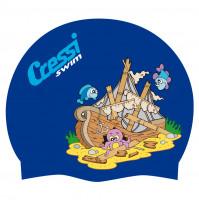Junior Silicone Swim Cap - SC-CDF200198 - Cressi