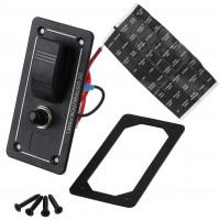 Rocker Switch with 1 Panel - LB1Z - ASM