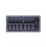 Rocker Switch with 7 Panels - LB7H/S - ASM