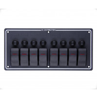 Rocker Switch with 8 Panels - LB8H - ASM