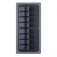 Rocker Switch with 8 Panels - LB8Z - ASM