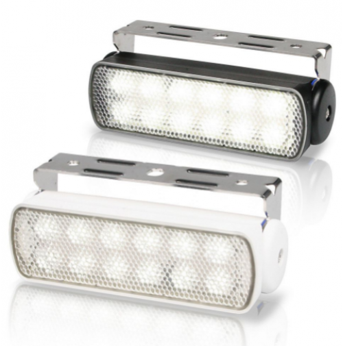 Replace Boat Lights With Led: Sea Hawk LED Floodlights (Bracket Mount)