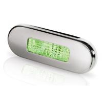 Green LED Oblong Step Lamp - 2XT959680931 - Hella Marine