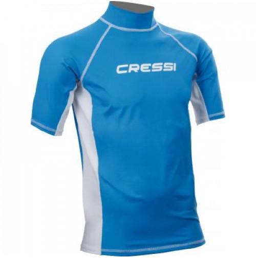 Rash Guard Adult - Blue - WSPCLW476603X - Cressi