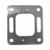 Stainless Steel Block Off Plate with Bleeder Holes For Mercruiser V6-229 C.I.D and 262 C.I.D - MC-20-99208 - Barr Marine