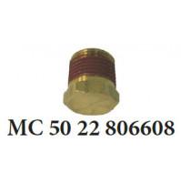 Drain Plug for Mercruiser 4 cylinder 181C.I.D 140 H.P 3.0l & 3.0LX - MC-50-22-806608 - Barr Marine