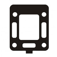 Exhaust Riser Gasket MC47-27-99777-3, Replaces MerCruiser part numbers 27-52076 and 27-99777 for Mercruiser 4 cylinder 181C.I.D - MC47-27-99777-3 - Barr Marine