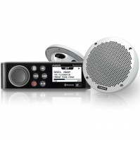 "The MS-RA70N Marine Stereo &  6"" 2-Way Speaker Pack - MS-RA70NKT - Fusion"