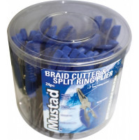 "BRAID CUTTER & SPLIT RING PLIER 5"" – 24 PCS BUCKET - MT029 - Mustad"
